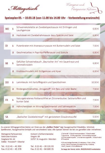 Mittagstisch Troisdorf, Imbiss, Sankt Augustin